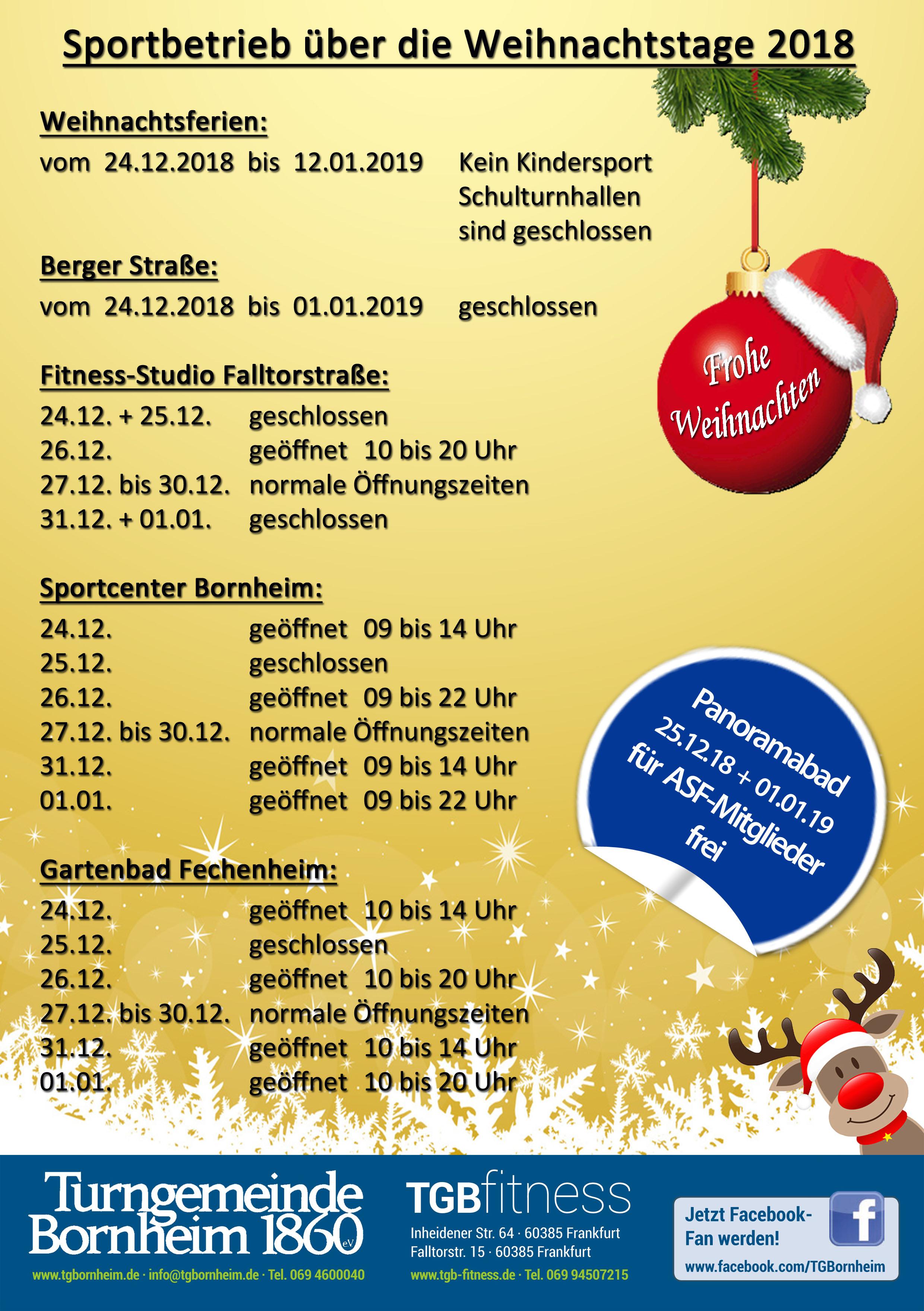 Frohe Weihnachten Philippinisch.Sportbetrieb Weihnachten 2018 A4 Modern Arnis Lapunti Frankfurt